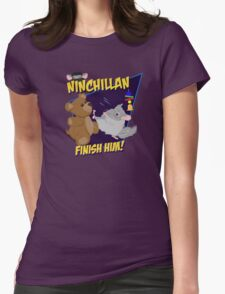NinChillan - Finish Him! Womens Fitted T-Shirt