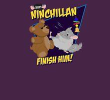 NinChillan - Finish Him! Womens Fitted T-Shirt