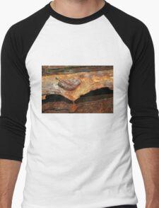 Ship's Anchor, A Study In Decay  Men's Baseball ¾ T-Shirt