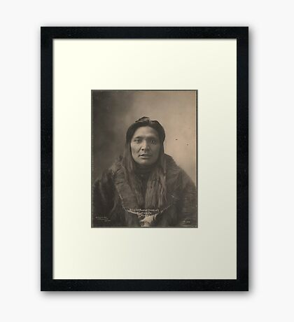 Kicking Horse Charley - Flat Head Framed Print