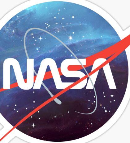 NASA Nebula Meatball Sticker