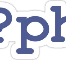 PHP Open Tag Sticker