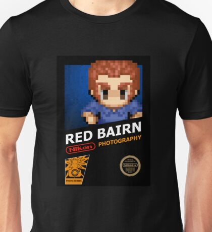 Red Bairn Photography - Retro Unisex T-Shirt