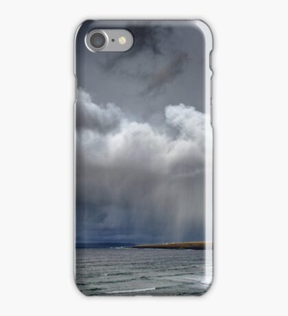 Bad Weather reaches Thurso iPhone Case/Skin