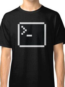 LInux computer screen Classic T-Shirt