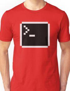 LInux computer screen Unisex T-Shirt