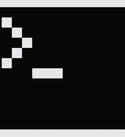 LInux computer screen Sticker