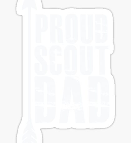 Proud Scout Dad - Parent Father of Boy Girl Club Sticker