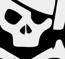 DJ Pirate. Music skull Sticker