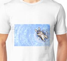 """Spoiled"" Tricolor Corgi Wide Variant Unisex T-Shirt"