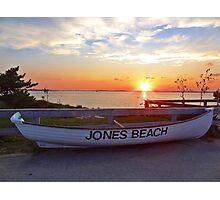 Jones Beach Sunset Photographic Print