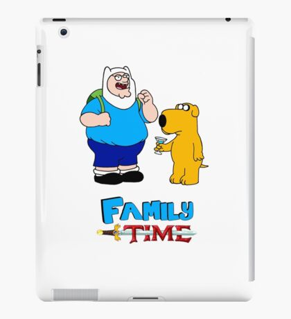 Family Time by Chris 51 iPad Case/Skin
