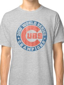 CUBS 2016 WORLD SERIES CHAMPIONS VINTAGE DISTRESSED Classic T-Shirt