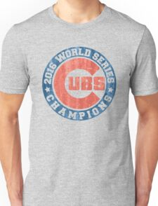 CUBS 2016 WORLD SERIES CHAMPIONS VINTAGE DISTRESSED Unisex T-Shirt
