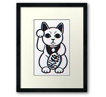 Maneki-NekWHOAH! Framed Print