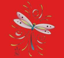 Mark C. Merchant brand illustration Kids Tee