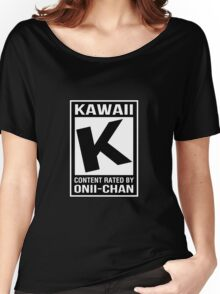 Rated K for Kawaii Women's Relaxed Fit T-Shirt