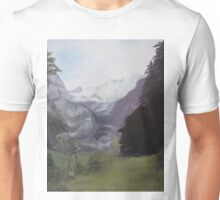 Mystery Mountains Unisex T-Shirt