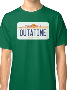 Outatime License Plate Classic T-Shirt