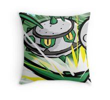 Ferrothorn   Power Whip Throw Pillow