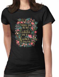 Little & Fierce Womens Fitted T-Shirt