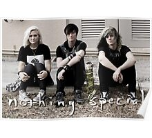 Nothing Special Band Poster Poster