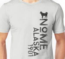 Nome, Alaska (Dark Silhouette Version) Unisex T-Shirt