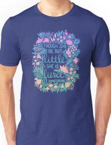 Little & Fierce – Lavender Mint Ombré Unisex T-Shirt