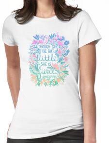 Little & Fierce – Lavender Mint Ombré Womens Fitted T-Shirt