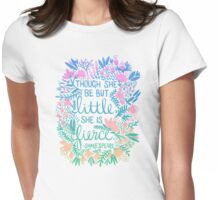 Little & Fierce – Lavender Mint Ombré Womens Fitted T-Shirt