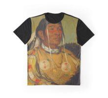 Chief Sha-có-pay of the Ojibwe Graphic T-Shirt