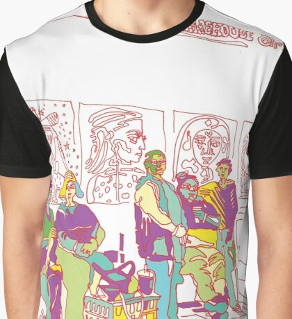 Muses at The Bus Stop - A Tucson Portrait Story Graphic T-Shirt
