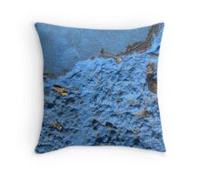 Blue Asphalt 16 Throw Pillow