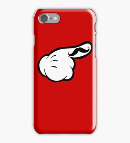 Funny moustache iPhone Case/Skin