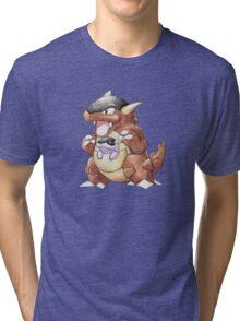 Classic Style Kangaskhan Tri-blend T-Shirt