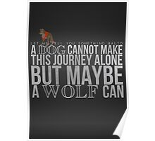 ... A Wolf Can Poster