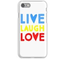 Funny love quote iPhone Case/Skin