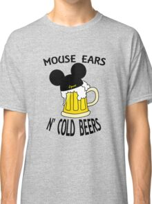 Mouse Ears N' Cold Beers (Epcot version) Classic T-Shirt