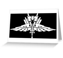 Mobile Infantry Greeting Card