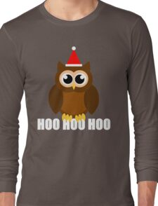 A Very Hooty Christmas Long Sleeve T-Shirt