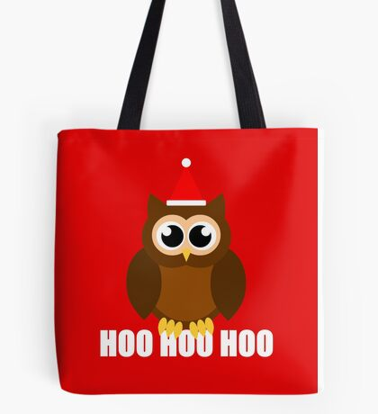 A Very Hooty Christmas Tote Bag
