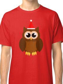 A Very Hooty Christmas (no text) Classic T-Shirt