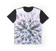 Echinops rito, Globe Thistle (large size) Graphic T-Shirt