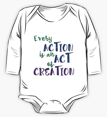 Act of Creation One Piece - Long Sleeve
