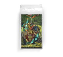 Prince of Pentacles Duvet Cover