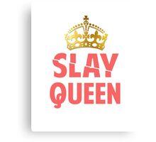 Slay Queen Canvas Print