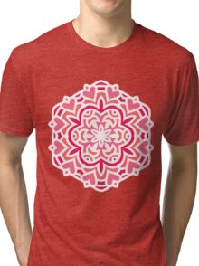 New art in shop. Original hand-drawn exotic Mandala art Tri-blend T-Shirt