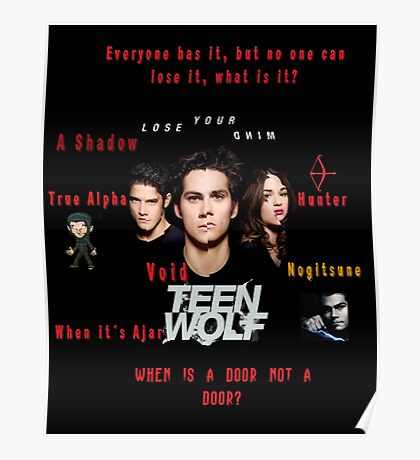 Teen Wolf Season 3 Quotes Poster
