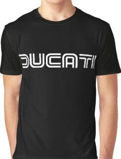 Retro Ducati Shirt Graphic T-Shirt