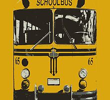 Yellow School Bus by funandhappy